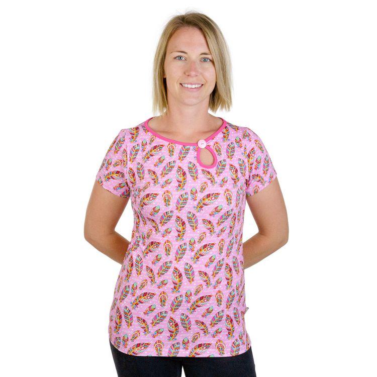 PrettyWomanShirt-Kurzarm UnconditionalLove-Pink