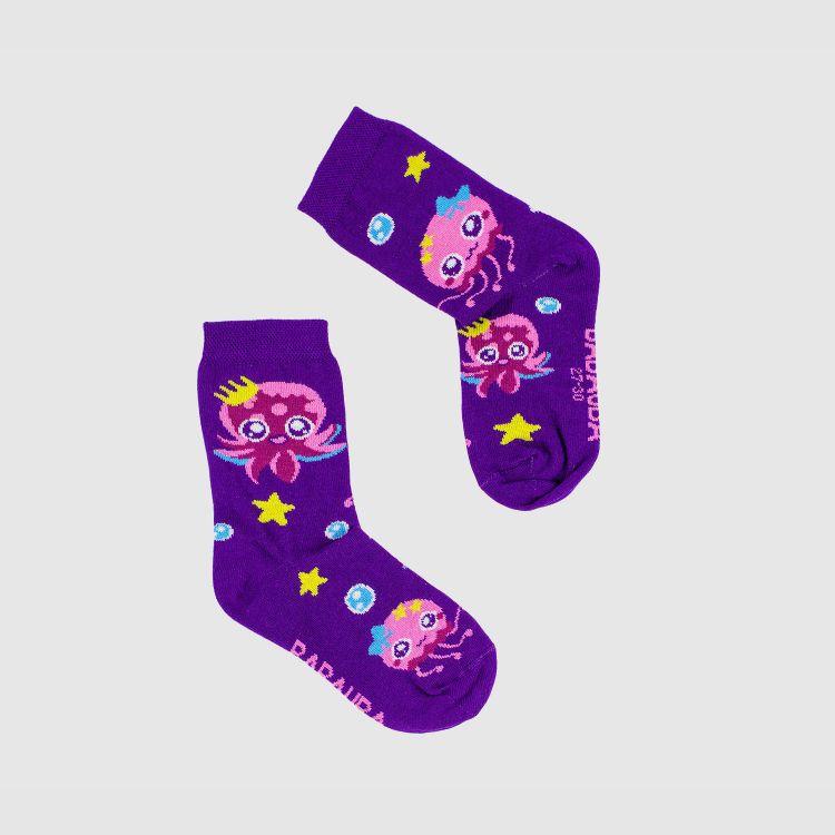 Woman-SockiSocks SweetOctopus-Purple