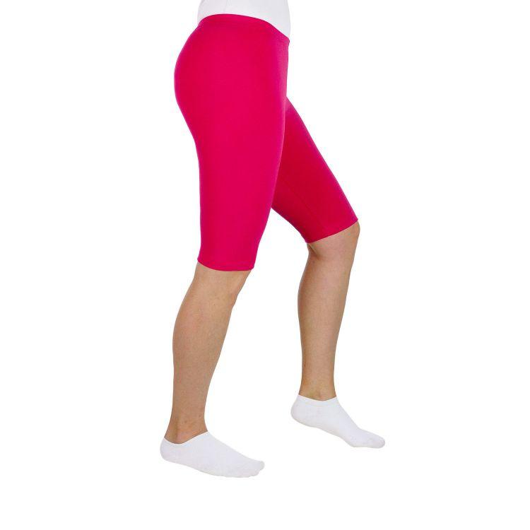 Uni-Woman-Radlerhose Pink
