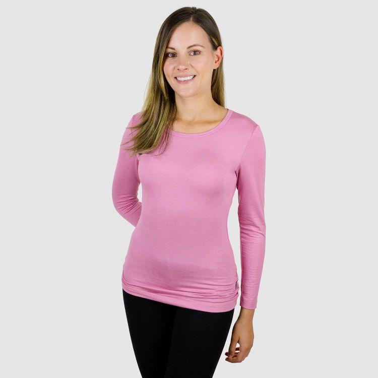 Viskose-Woman-Langarmshirt Antikrosa
