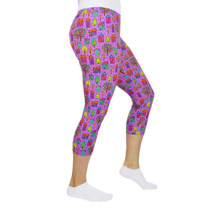Woman-Capri-SkinnyPants ColorfulVillage