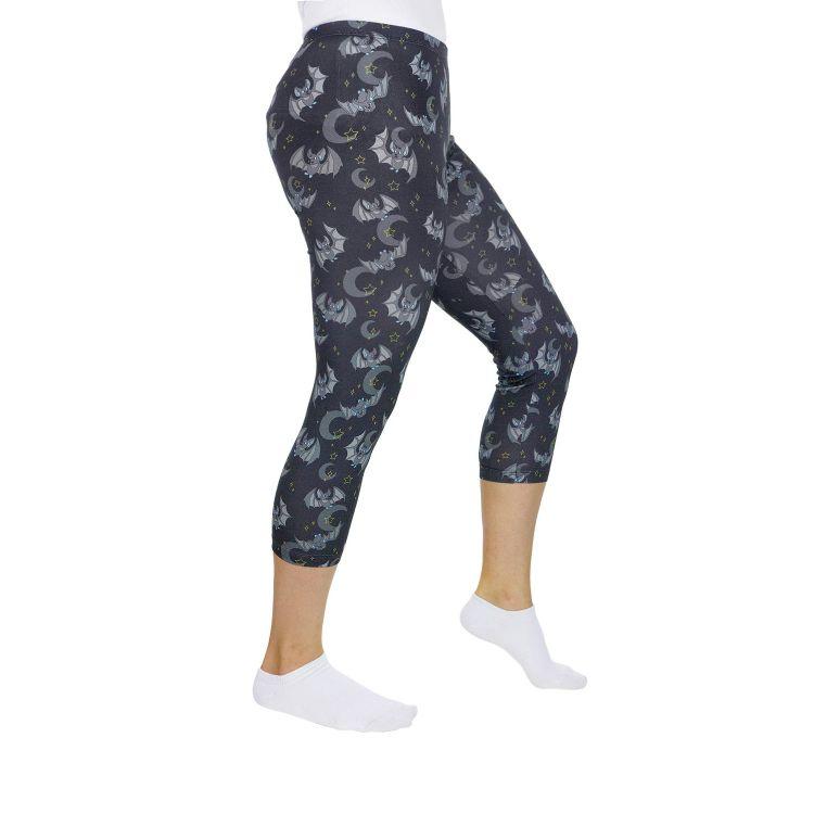 Woman-Capri-SkinnyPants DarkBats