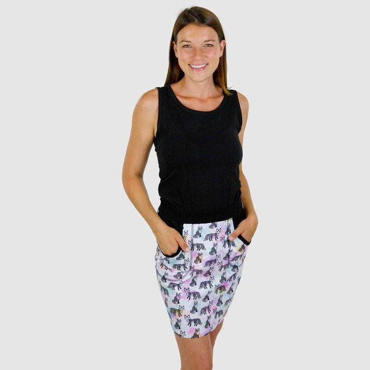 Woman-PocketDress - ColorfulFoxes