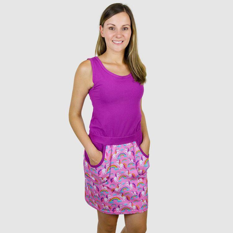 Woman-PocketDress - SparklingUnicorns