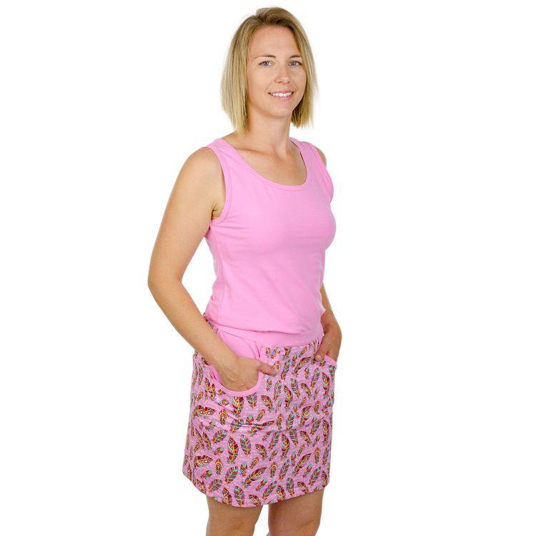 Woman-PocketDress - UnconditionalLove-Pink