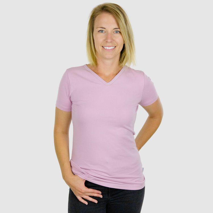 Woman-V-NeckShirt Uni Antikrosa