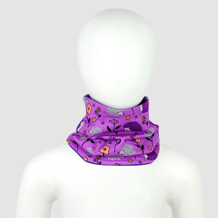 Baby-Loop-Schal - SweetHedgehogs-Purple