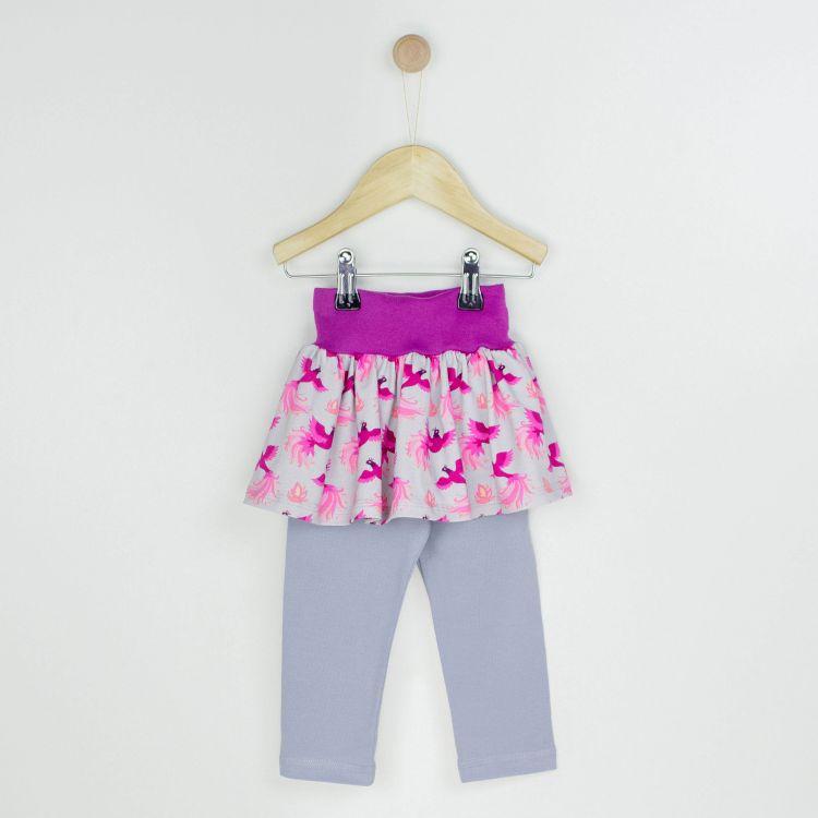 Baby-SkinnyPantsRöckchen lang - PinkPhoenix
