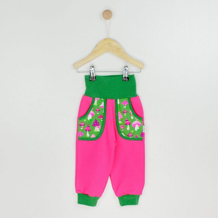 Baby-CoolPocketPants - PinkMushrooms