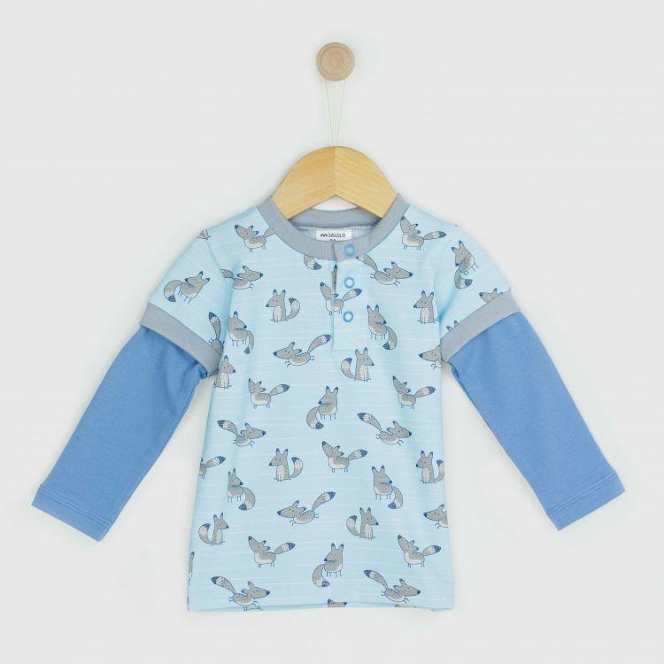Kids-Langarm-T-Shirt - CheekyFoxes