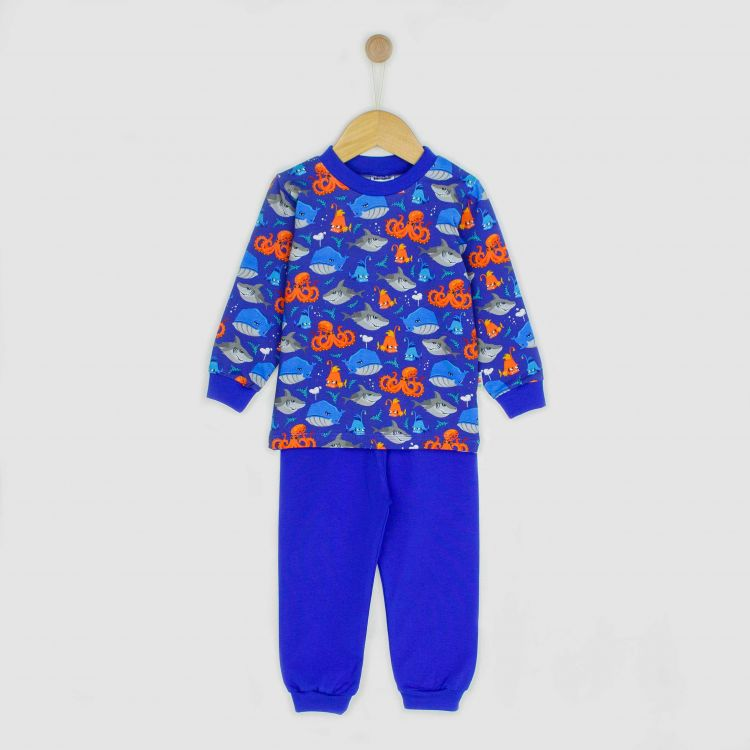 Baby-Pyjama-Set - SeaCreatures-Dark