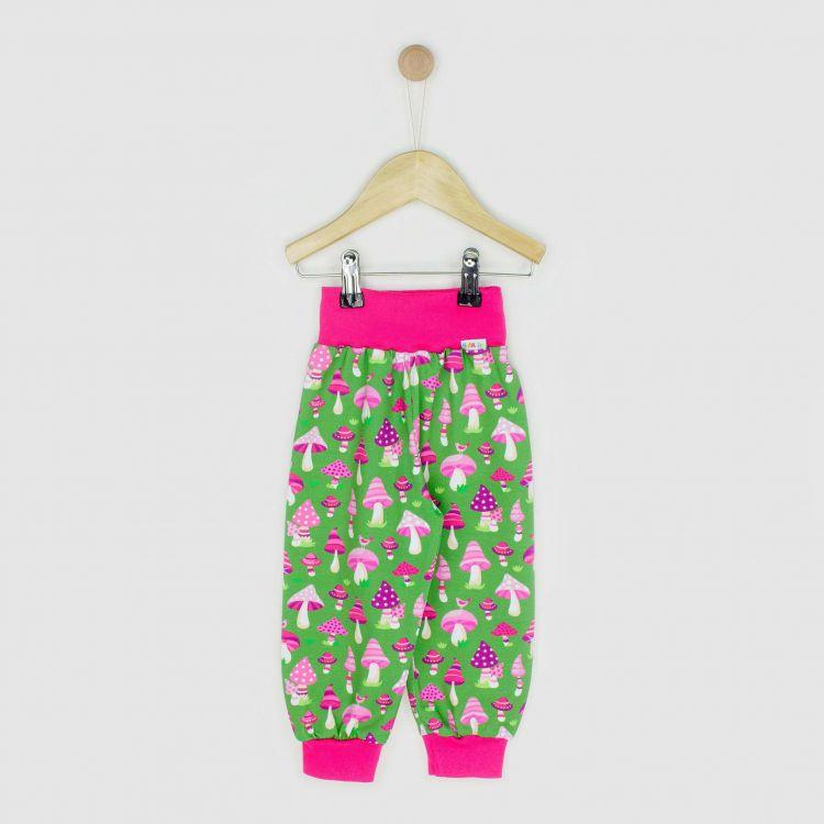 Kids-Widepants - PinkMushrooms