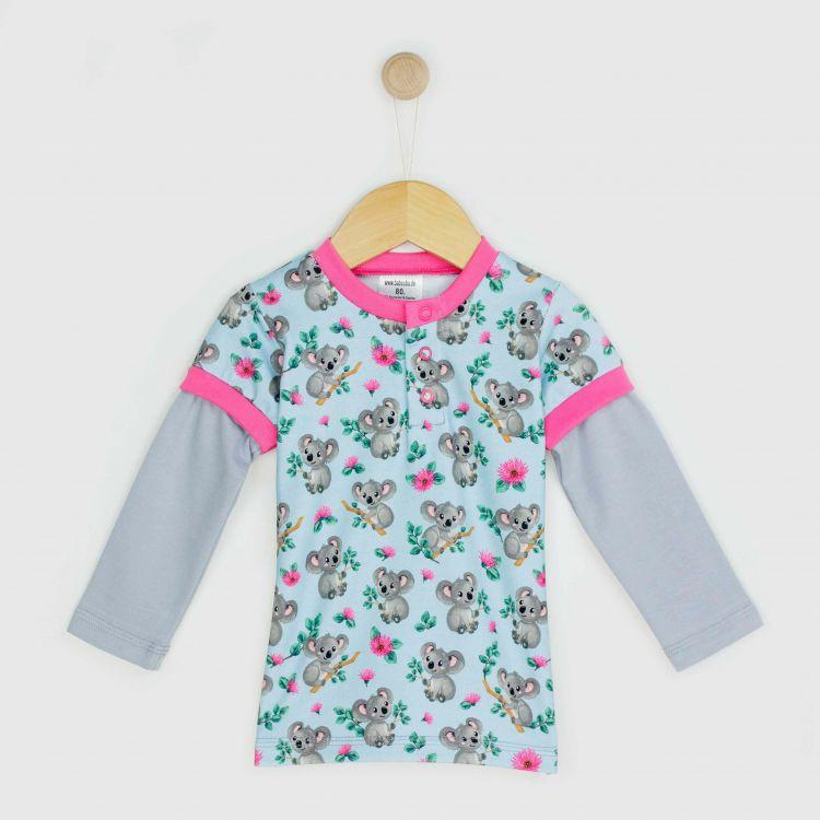 Kids-Langarm-T-Shirt - CuteKoalas