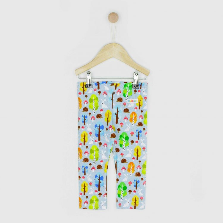 Baby-SkinnyPants - MagicalForest-Blue