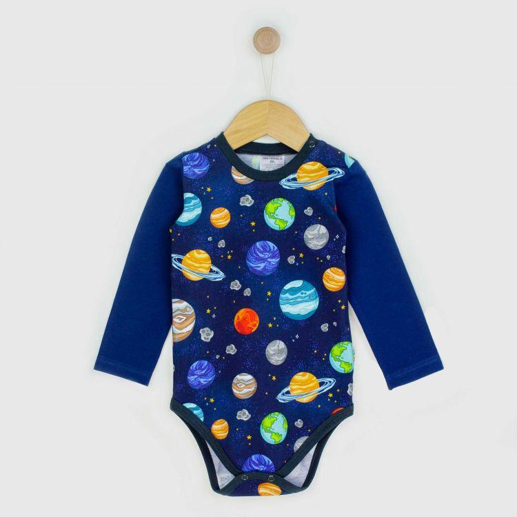Baby-Langarmbody - BabaubaPlanets