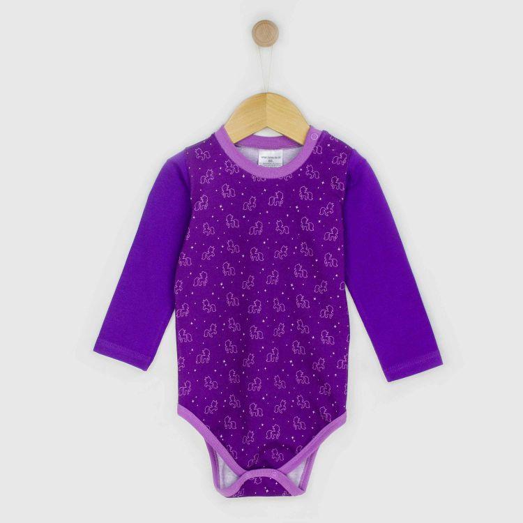 Baby-Langarmbody - PurpleUnicorn