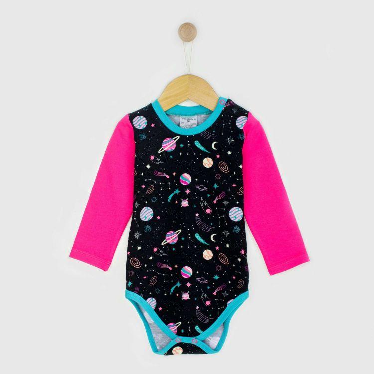 Baby-Langarmbody - SpaceGirl