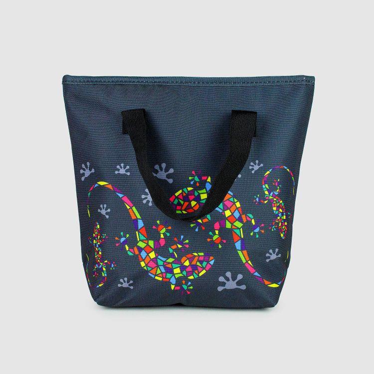 Lunchbag DiamantSalamander-Black