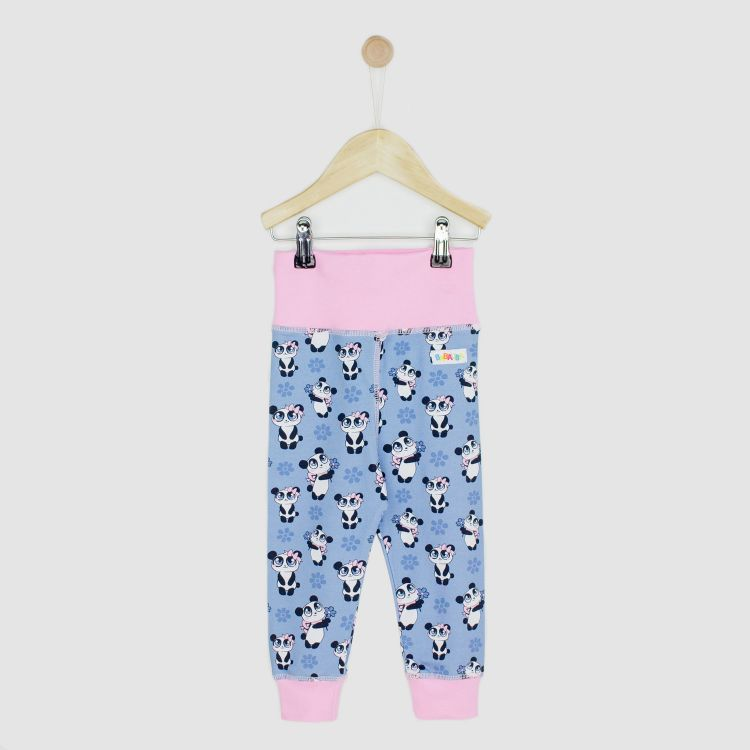 Kids-BabyPants - GirlyPanda-Grey