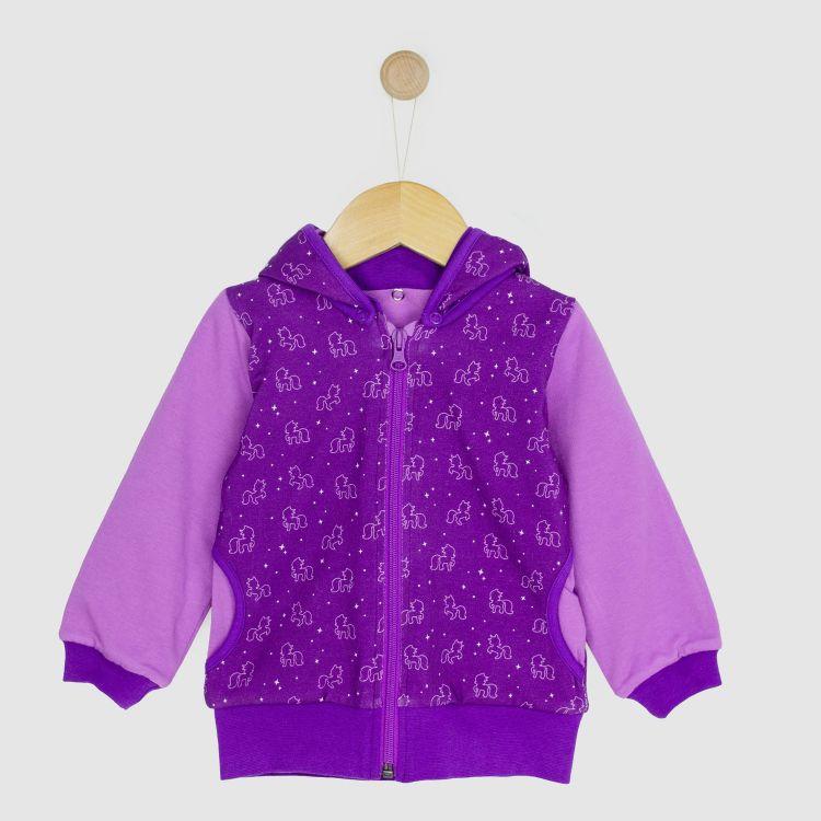 Kids-HoodieH2 - PurpleUnicorn
