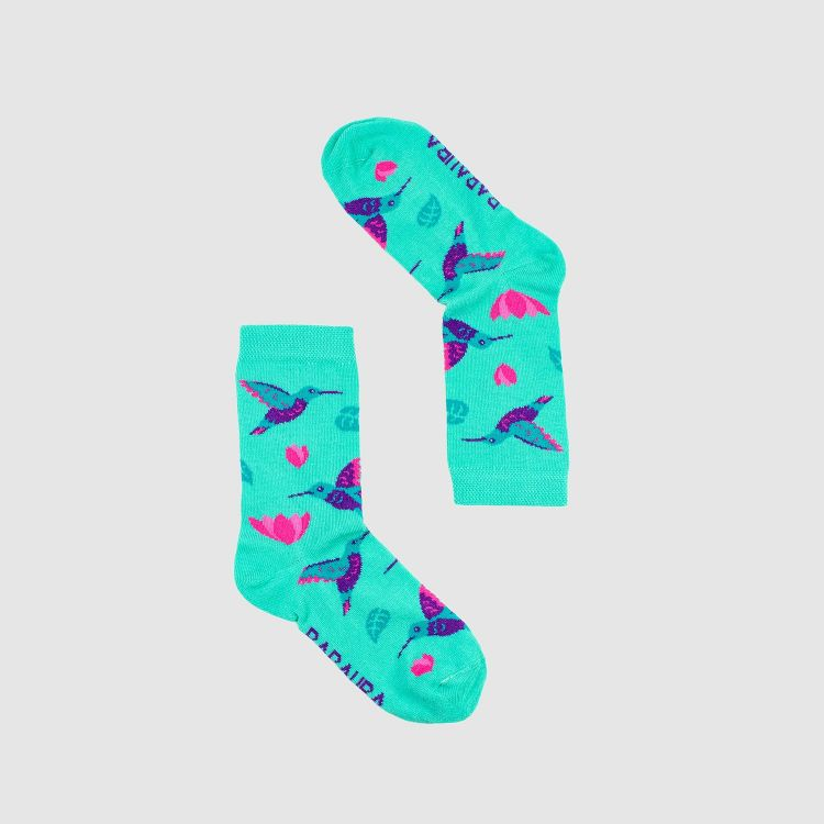 Baby-SockiSocks - Hummingbirds-Blue