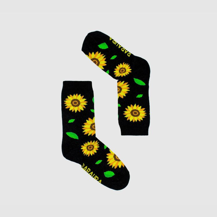 Kids-SockiSocks - Sunflowers-Green