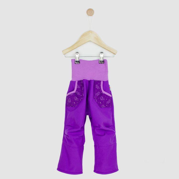Kids-Softshellhose - PurpleUnicorn