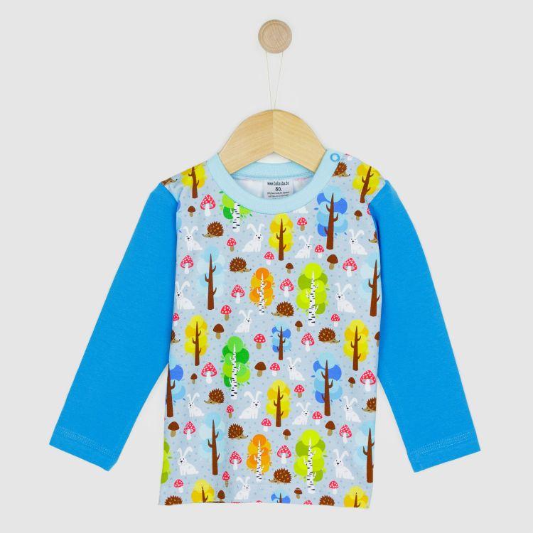 Baby-Langarmshirt - MagicalForest-Blue