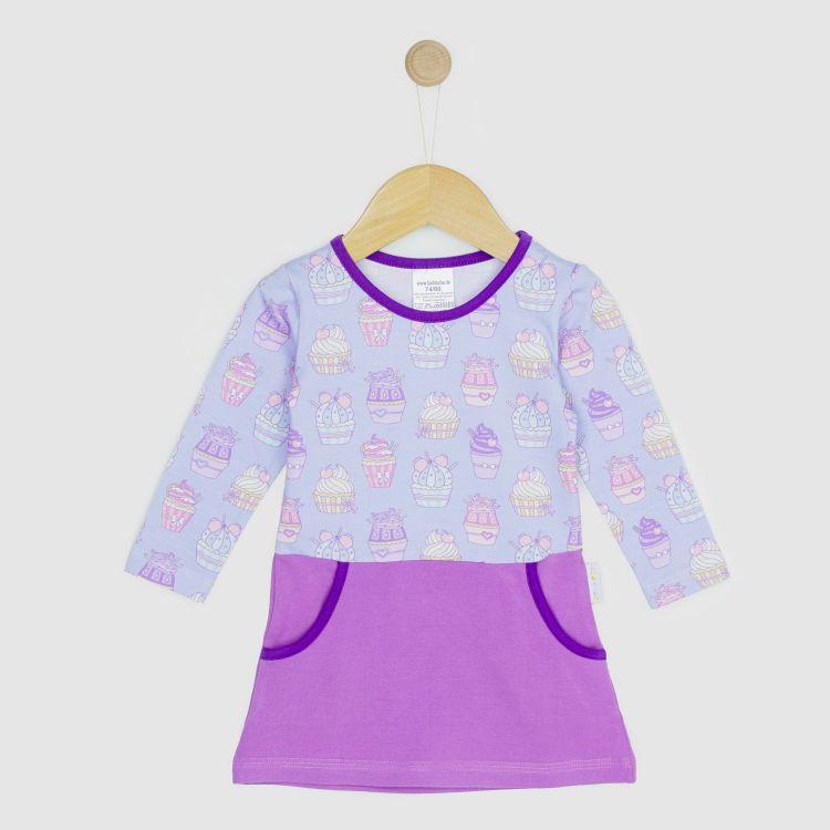 Baby-Langarm-PocketDress - LovelyCupcakes