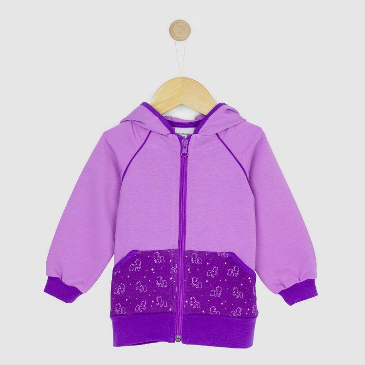 Kids-Raglan-Hoodie - PurpleUnicorn