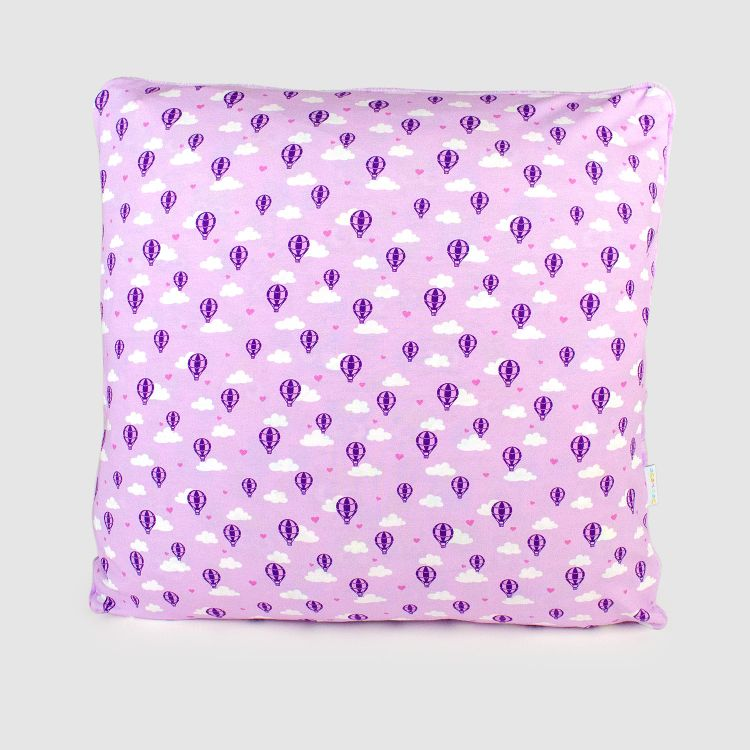 Kuschel-Polsterüberzug - LovelyBalloons-Lavendel