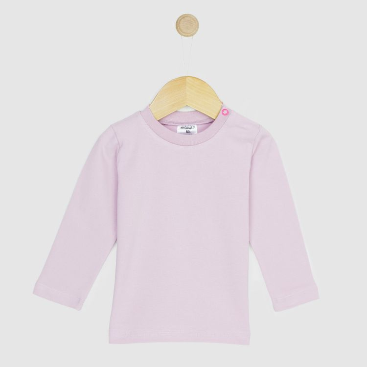 Baby-Uni-Langarmshirt - Antikrosa
