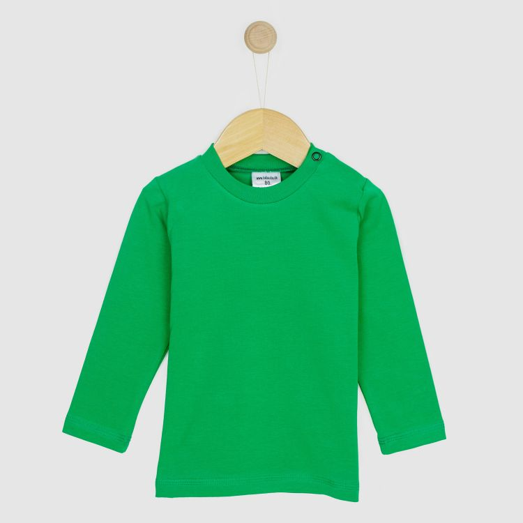 Baby-Uni-Langarmshirt - Waldgrün