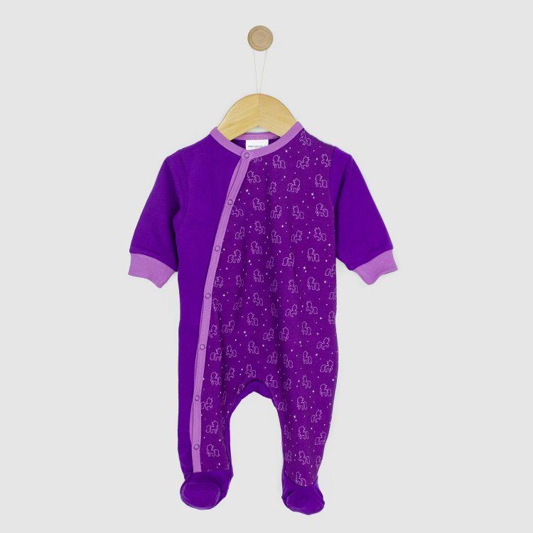 Strampler-Pepstyle PurpleUnicorn