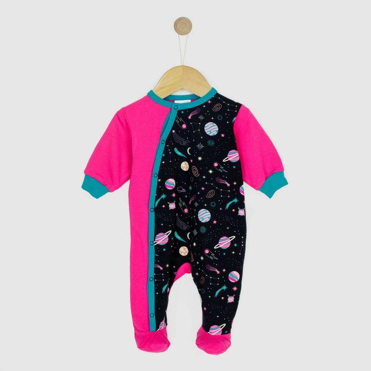 Baby-Strampler-Pepstyle - SpaceGirl