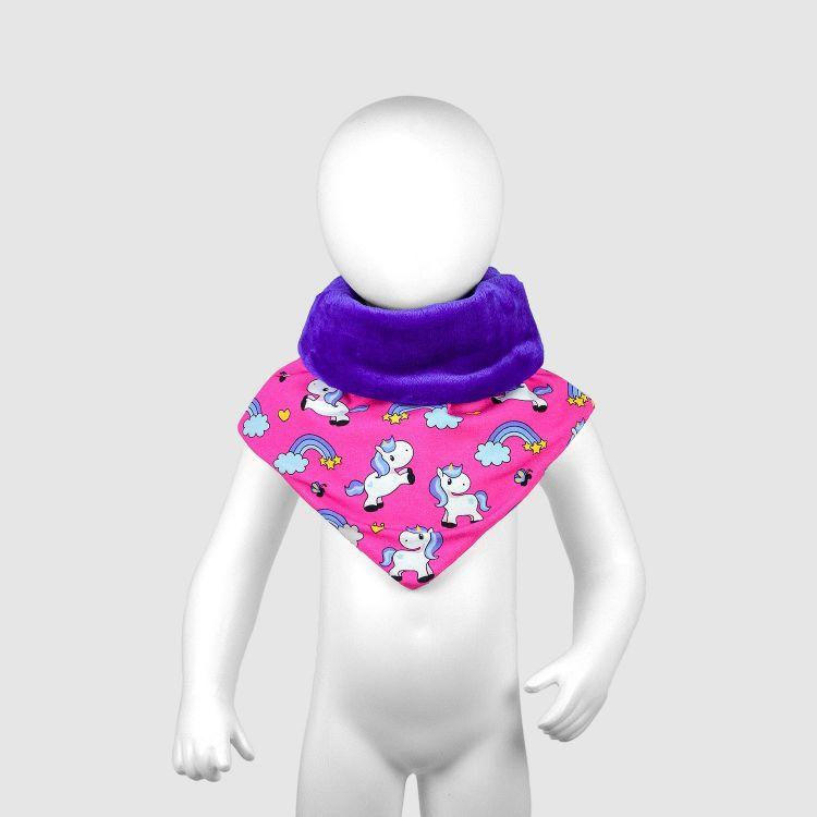 Baby-Halssocke XL - ChubbyUnicorns-Pink