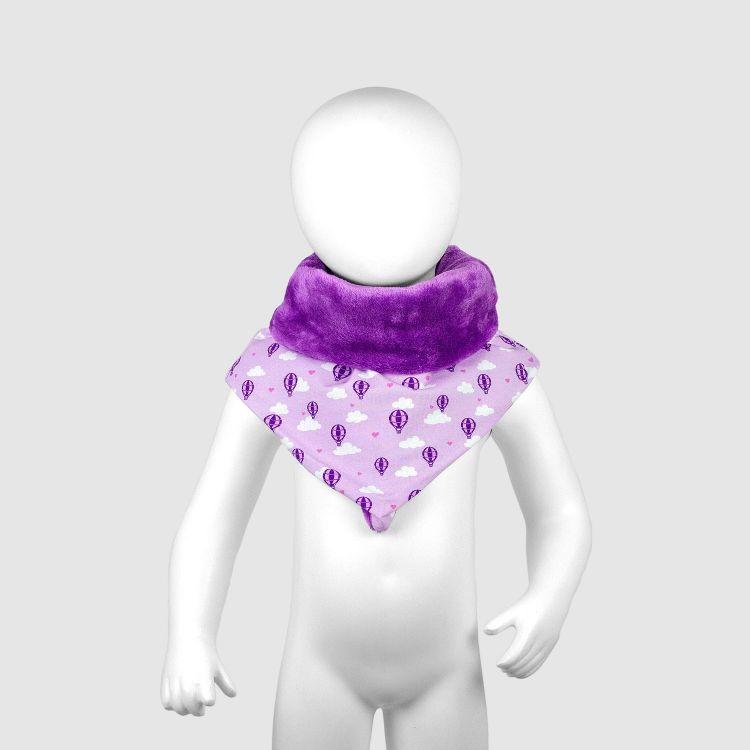 Baby-Halssocke XL - LovelyBalloons-Lavendel