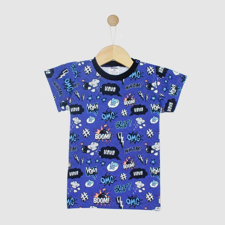Kids-T-Shirt - Kaboom-SchwarzEdition