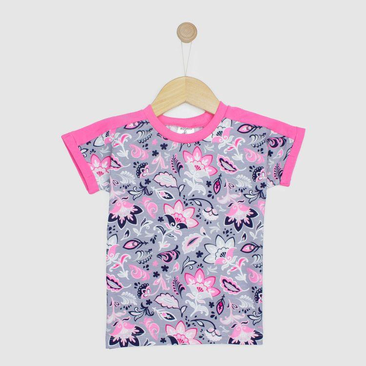 Kids-CoolShirt - PaisleyFlowers