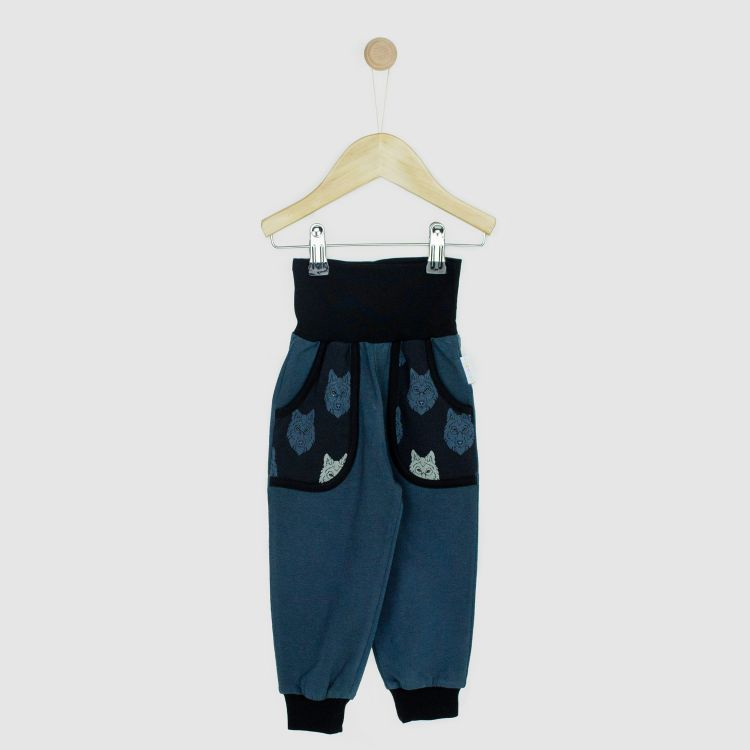Kids-Jersey-CoolPocketPants - BlackWolf