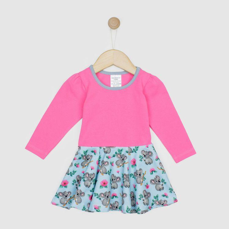 Baby-Langarm-Drehkleidchen - CuteKoalas