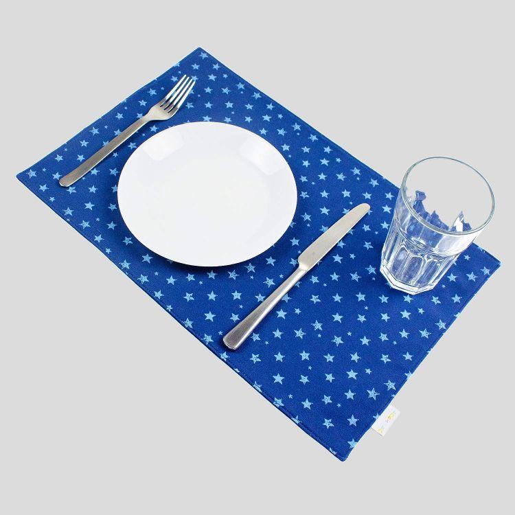 Platzset - NightSky-Blue