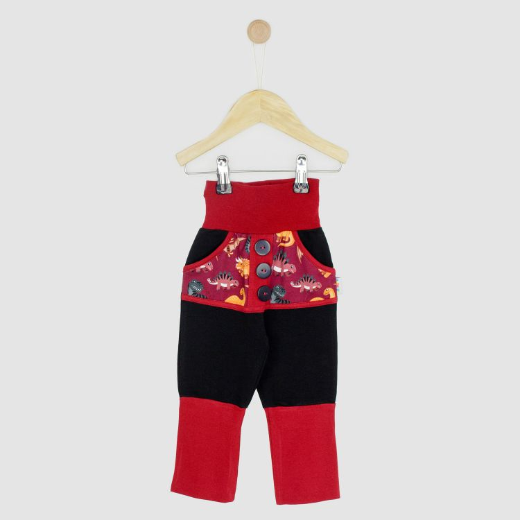 Kids-Knickerbocker - BabaubaBigDinos-Brown