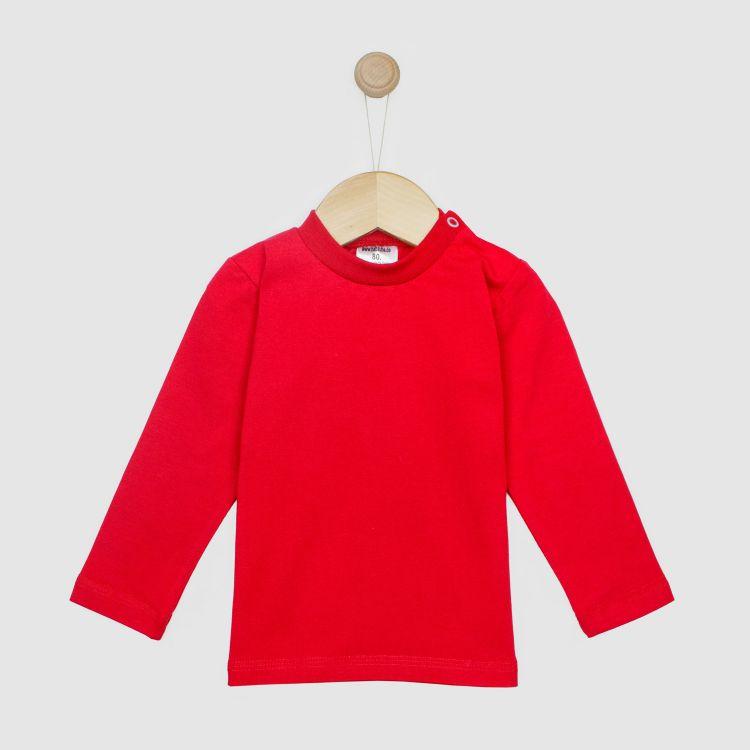 Baby-Uni-Langarmshirt - Rot