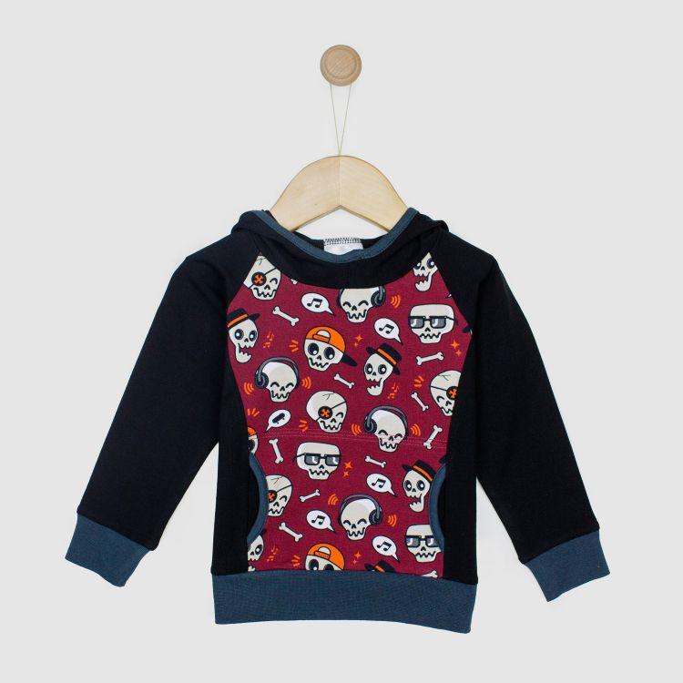 Baby-Hoodie-Shirt - SkullGang