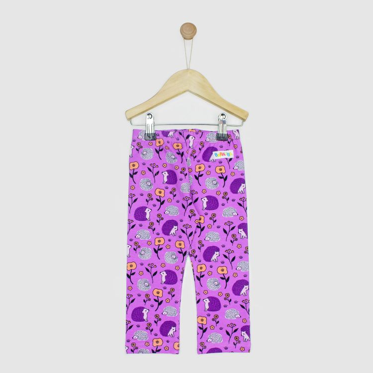 Kids-SkinnyPants - SweetHedgehogs-Purple