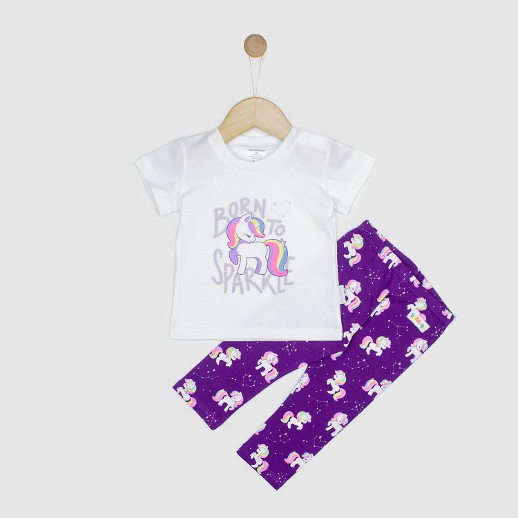 Baby-Kurzarm-Hero-Set - GalaxyUnicorns