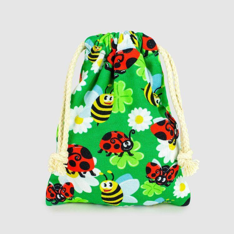 KrimsKrams-Beutel Regular LadybugsAndBees