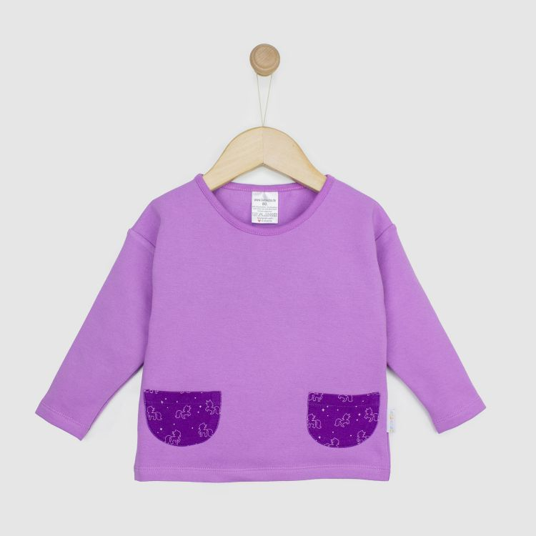 Baby-PocketSweater - PurpleUnicorn