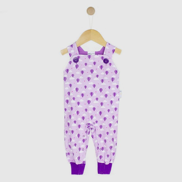 Latzhose LovelyBalloons-Lavendel